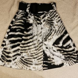 Worthington Silky Belted Skirt Sz 4